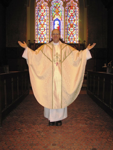 Chasuble for The Rev. Michael J. Hodges